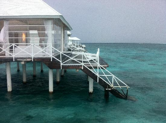 Diamonds Thudufushi: le water villa