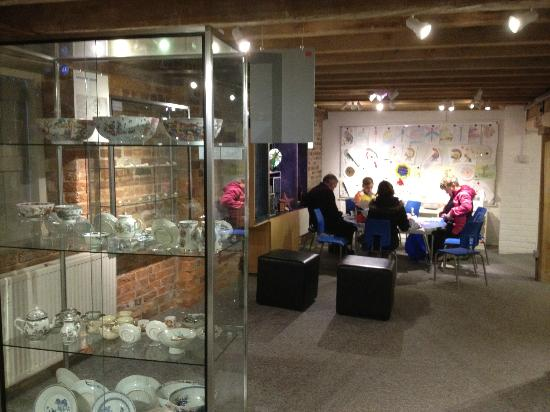 Poole Museum and Scaplen's Court Museum and Herb Garden: The children's activity area on Floor 3 of Poole Museum