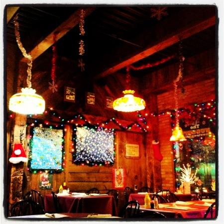 The Nuggett Downtown Grill: love the over the top decorations