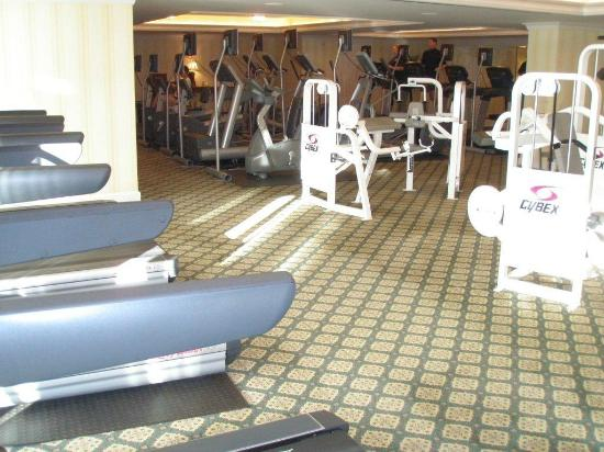 Grand America Hotel : Expansive exercise room