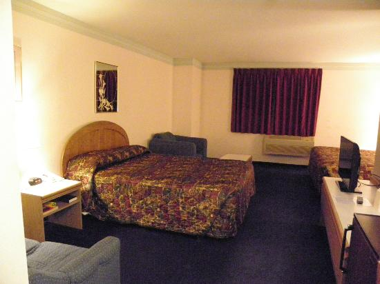 Econo Lodge Sequim: Queen bed