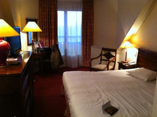 Hotel Les Jardins de Deauville: Chambre