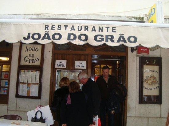 Joao do Grao : Restaurante João do Grão - Lisboa