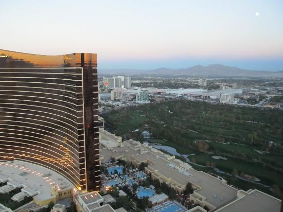 The Palazzo Resort Hotel Casino: View from 43rd floor.
