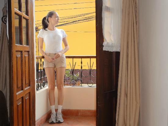 Hotel Plaza Copan: desde el balcon de mi habitacion!!