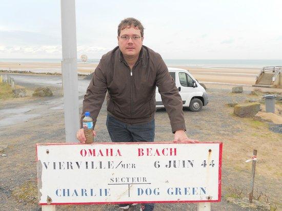 Saint-Laurent-sur-Mer, Prancis: Omaha Beach - Normandy - France