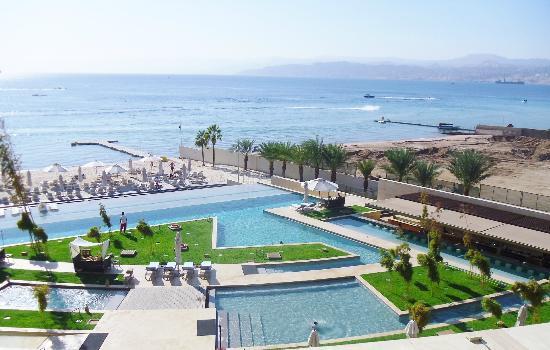 Kempinski Hotel Aqaba Red Sea: View from my room.
