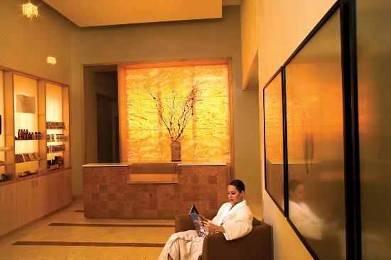 Nidah Spa At Eldorado Hotel: Golden Nidah Spa Entrance