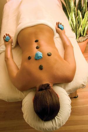 Nidah Spa At Eldorado Hotel: Hot Stone Massage