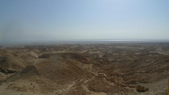 The Masada Hostel: View from the terrace