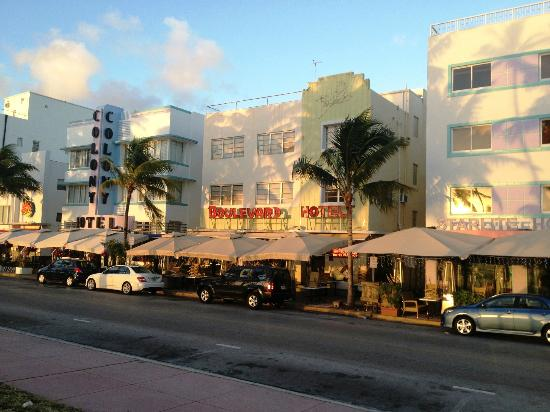 Boulevard Hotel Ocean Drive : Exterior