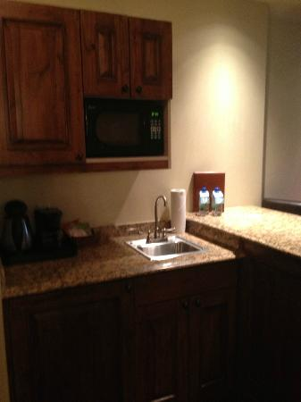 Tivoli Lodge: Kitchenette