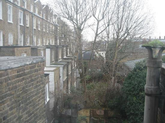 Central Hostel : View from the dorm