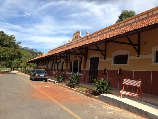 Railway Station: estação de Sao Roque