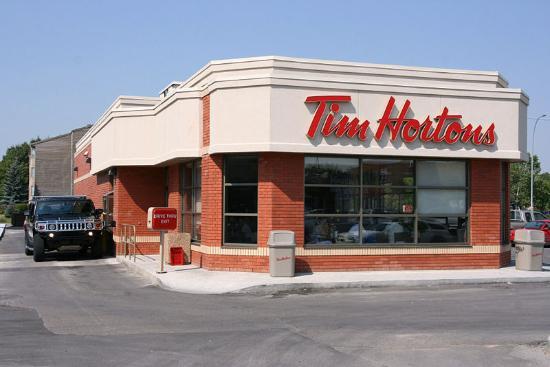 Tim Horton's Restaurant