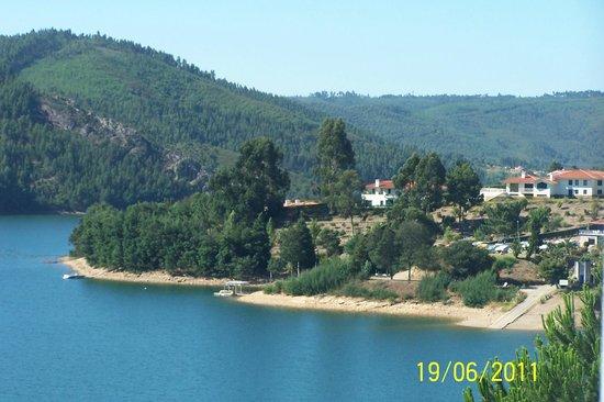 Estalagem Lago Azul: vista do quarto