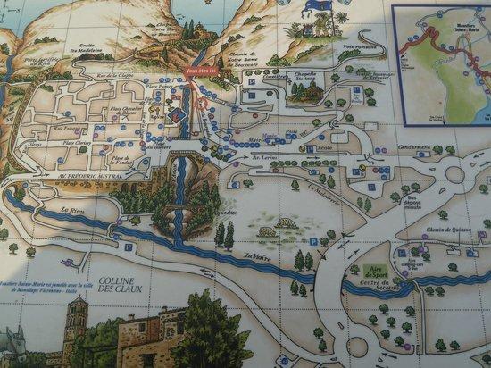 Moustiers-Sainte-Marie Mapa do Chemin de Quinson - Photo de La ...