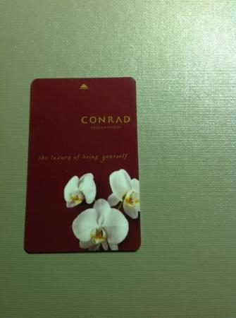 Conrad Indianapolis: room key