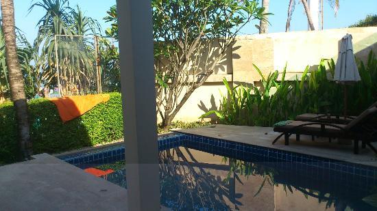 La Flora Resort Patong: Villa pool 