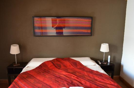 Don Faustino Hotel: Toma interior