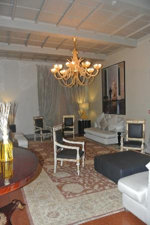 Hotel Brunelleschi: sitting area