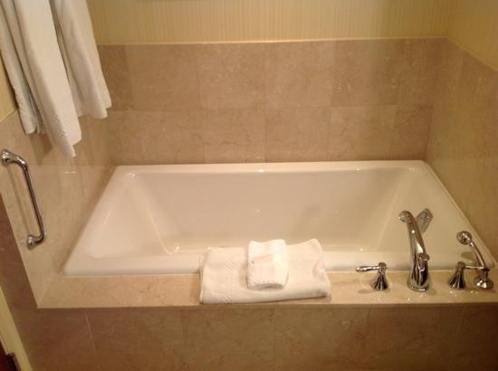 Conrad Indianapolis: soaker tub