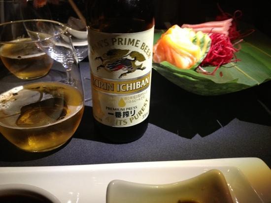 Enso Sushi Los Belones: cerveza japonesa