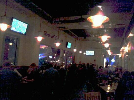 Margaritaville Mohegan Sun: second floor dining