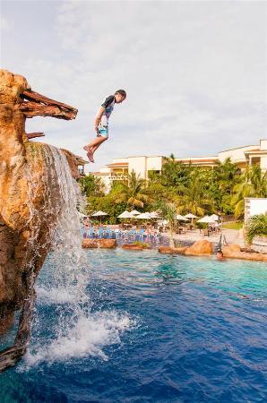 Hotel Marina El Cid Spa & Beach Resort: Pool drop!