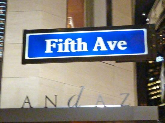 Andaz 5th Avenue: Fine Hotel!