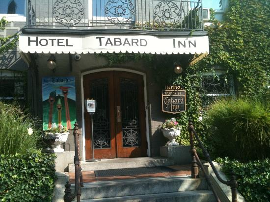Tabard Inn: front entry