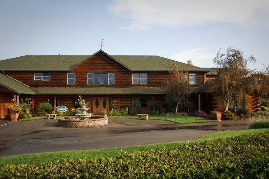 The Purple Orchid Wine Country & Spa: Main Lodge