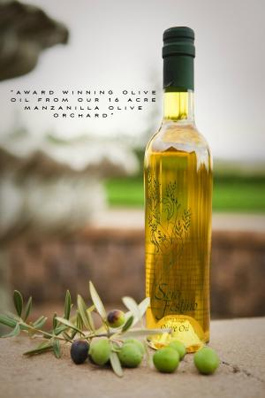 The Purple Orchid Wine Country & Spa: Award Winning Olive Oil