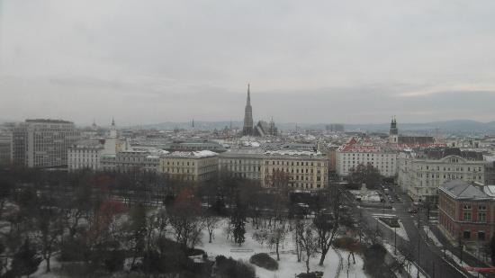 Hilton Vienna: View from our room
