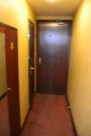 Hôtel du Helder : Corridoio camera
