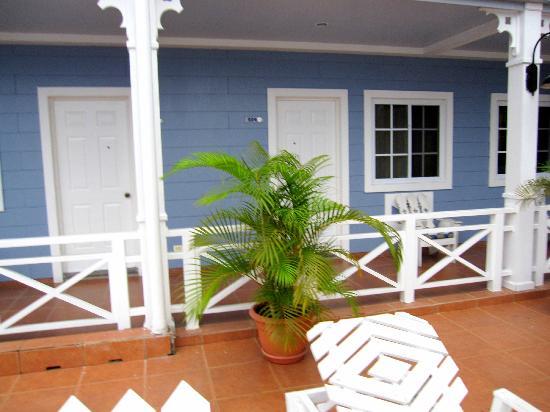 Hotel Casona del Lago: Room entrance