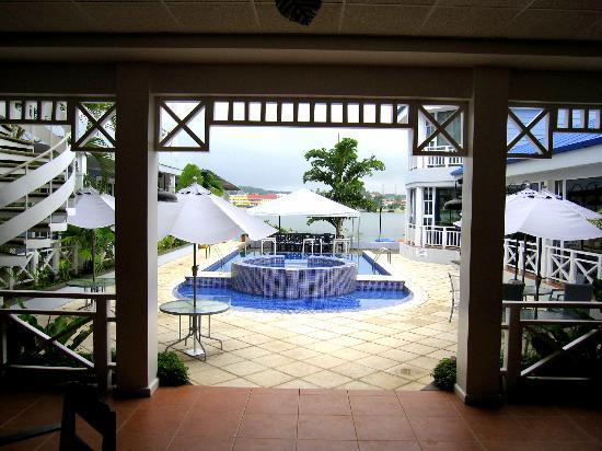Hotel Casona del Lago: View from Restaurant