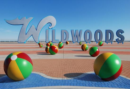 Stardust Motel: Photo of Wildwood sign.