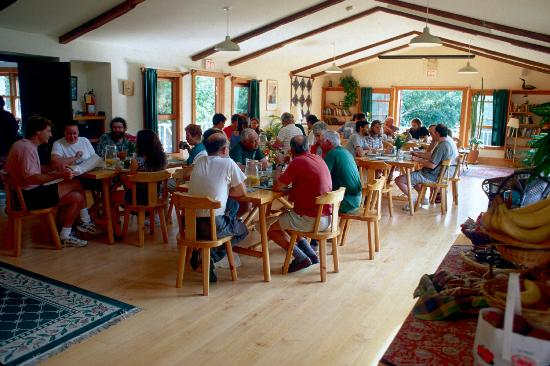 Rock and River Lodge : breakfast