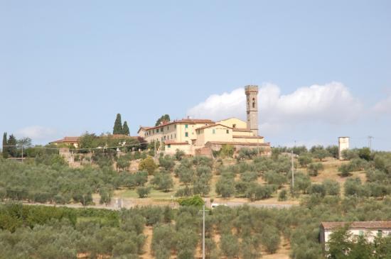 Agriturismo Il Poderaccio: view from terras