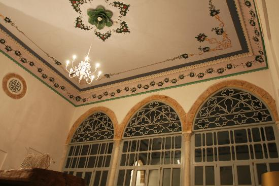 Efendi Hotel: Every ceiling has been detailed and restored.