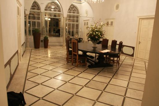 Efendi Hotel: Original marble floors!