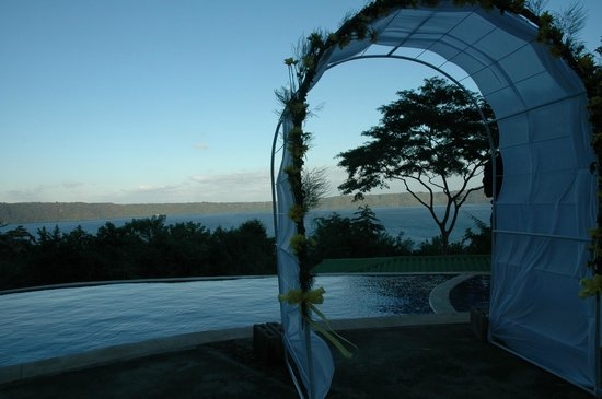 Apoyo Resort: a lovely evening for a wedding