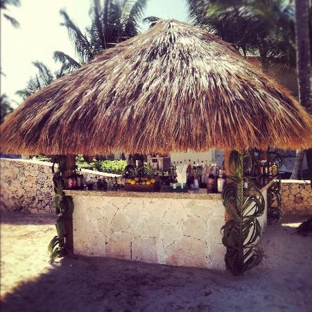 Hotel Majesctic Colonial Punta Cana: Beach Hut Bar