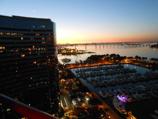 Marriott Marquis San Diego Marina: view from room 2129