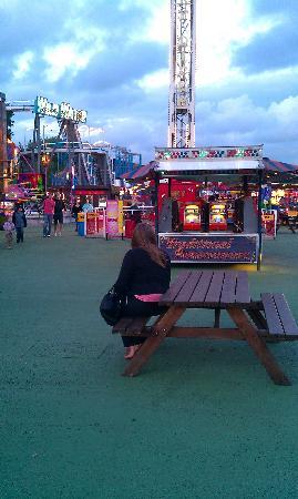 Fun City at Brean Leisure Park: brean leisure park july 2011