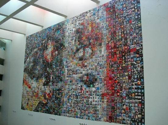 Hard Rock Hotel Vallarta: 2800 album covers make this mosaic special