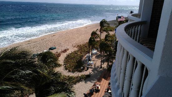 Beachcomber Resort and Villas : vue de la chambre ocean front