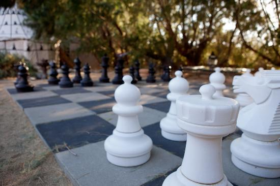 El Morocco Inn & Day Spa: Play Giant Chess in the Spa Garden or snooze in a hammock...ahhh