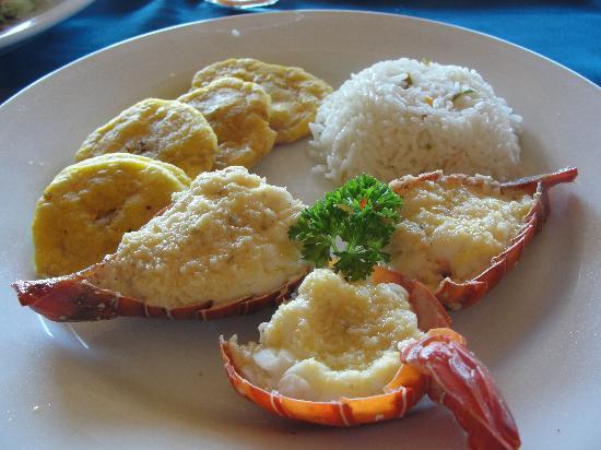 Bar Restaurant Josseline: lobster